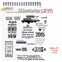 52 Inspirations 2015 - Bonus 1