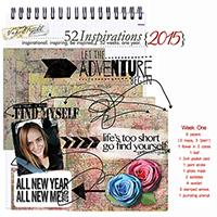 52 Inspirations 2015 - Week 1