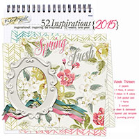 52 Inspirations 2015 - week 13
