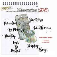 52 Inspirations 2015 - week 15 BONUS