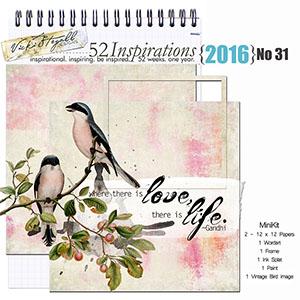 52 Inspirations 2016 - no 31