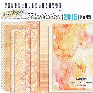 52 Inspirations 2016 - no 45