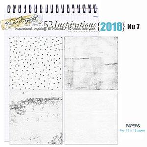 52 Inspirations 2016 - no 7