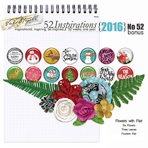 52 Inspirations 2016 - no 52 (bonus 1)