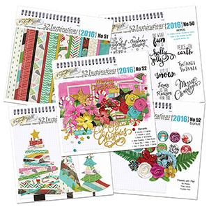 52 Inspirations 2016 - Christmas Bundle