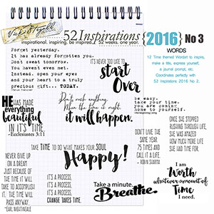 52 Inspirations 2016 - no 3