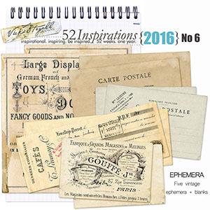52 Inspirations 2016 - no 6