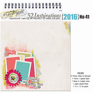 52 Inspirations 2016 - no 41