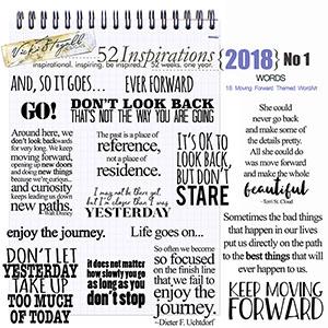52 Inspirations 2018 -  No 1