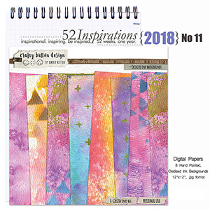 52 Inspirations 2018 No 11 - Oxidized Ink Backgrounds