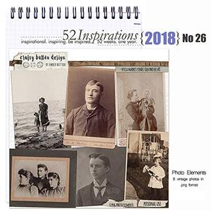 52 Inspirations 2018 No 27 - Flea Market Finds Old Photos no 8