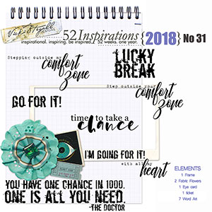 52 Inspirations 2018 - no 31 by Vicki Stegall