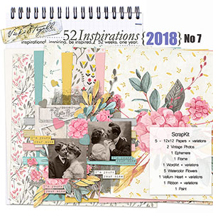 52 Inspirations 2018 - no 7