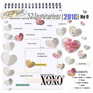 52 Inspirations 2018 - no 9 hearts