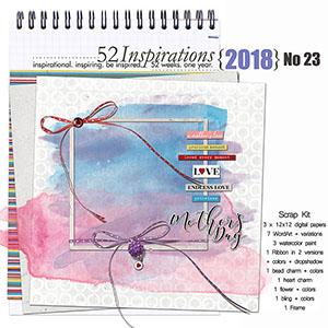 52 Inspirations 2018 - no 23
