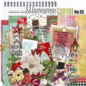 52 Inspirations 2019 - Christmas Inspired Bundle