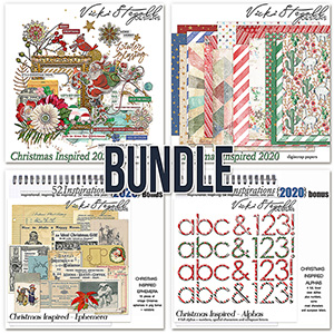 52 Inspirations 2020 Christmas Inspired Bundle by Vicki Stegall