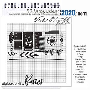 52 Inspirations 2020 -  No 11 Basics by Vicki Stegall