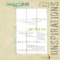 52 Inspirations :: 2009 {Week 22}