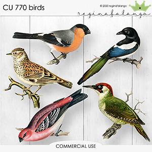 CU 770 BIRDS