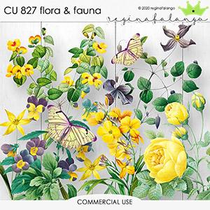 CU 827 FLORA & FAUNA