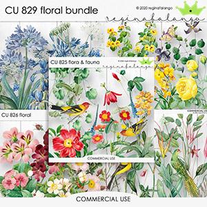 CU 829 FLORAL BUNDLE