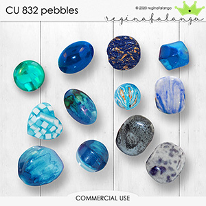 CU 832 PEBBLES