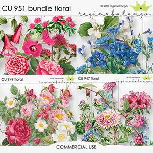 CU 951 BUNDLE FLORAL