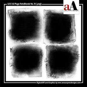 12 X 12 Page FotoBlendz No. 9