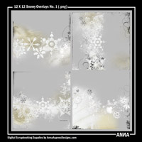 12 X 12 Snowy Overlays No. 1