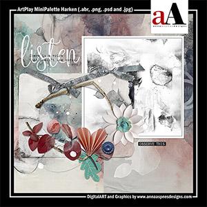ArtPlay MiniPalette Harken