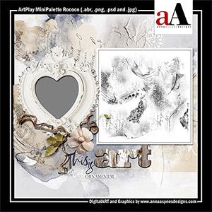 ArtPlay MiniPalette Rococo