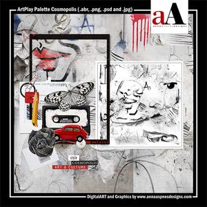 ArtPlay Palette Cosmopolis