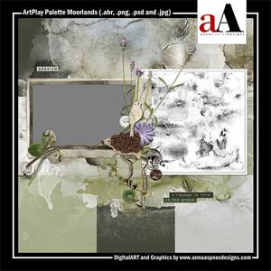 ArtPlay Palette Moorlands
