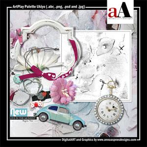 ArtPlay Palette Ukiyo