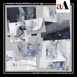 ArtsyKardz Disquiet MultiPack