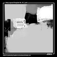 Artsy Layered Template No. 41