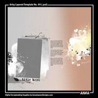 Artsy Layered Template No. 44