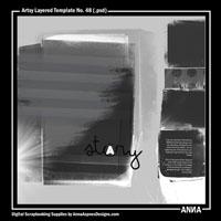 Artsy Layered Template No. 48