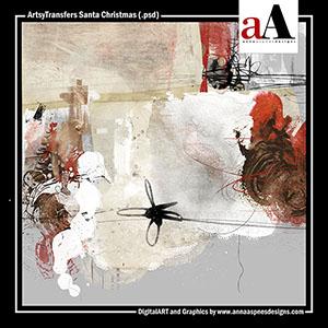 ArtsyTransfers Santa Christmas