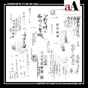 AsianScript No. 2