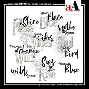 Aubade WordART Mix No. 1