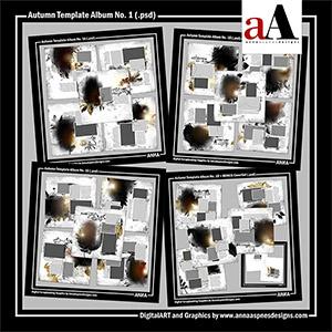 Autumn Template Album No. 1