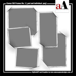 Corner Slit Frames No. 1