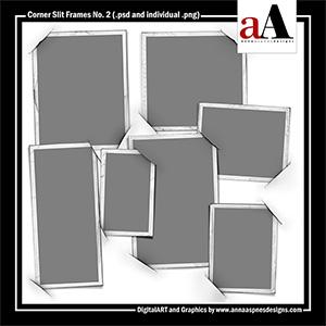 Corner Slit Frames No. 2