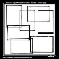 4 X 6 Distressed FotoFrames No. 2