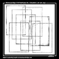4 X 6 Distressed FotoFrames No. 1