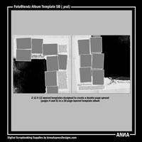 FotoBlendz Album Template No. 5B