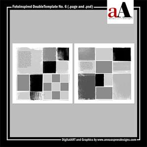 FotoInspired DoubleTemplate No. 6 (Artisan)