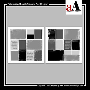 FotoInspired DoubleTemplate No. 86